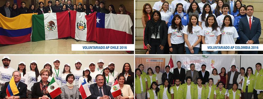 Programa de Voluntariado Juvenil Alianza Pacífico 2017